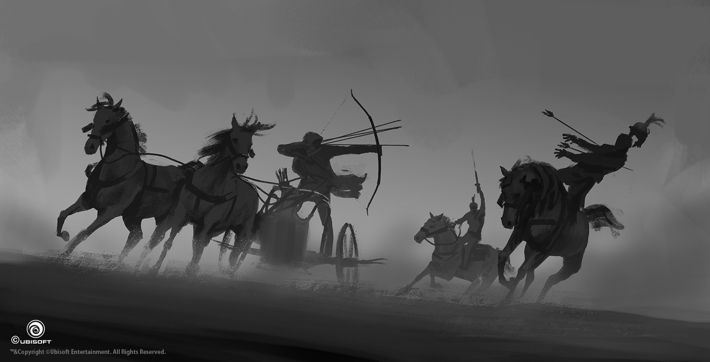 martin-deschambault-aco-bayek-chariot-action-sketch-mdeschambault