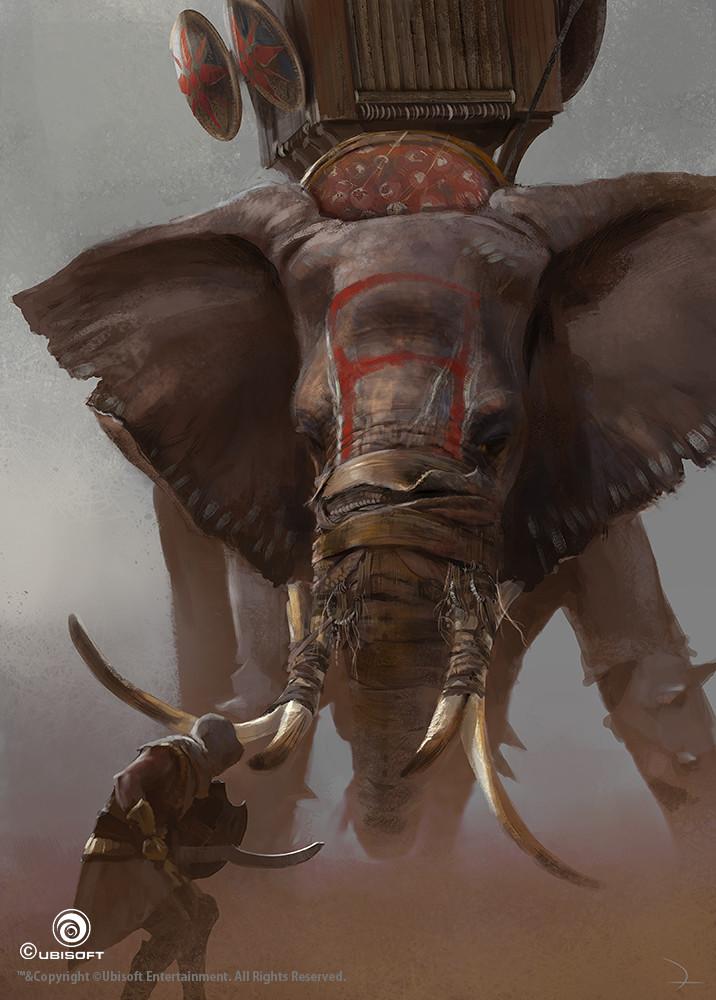 martin-deschambault-aco-bayek-war-elephant-action-mdeschambault