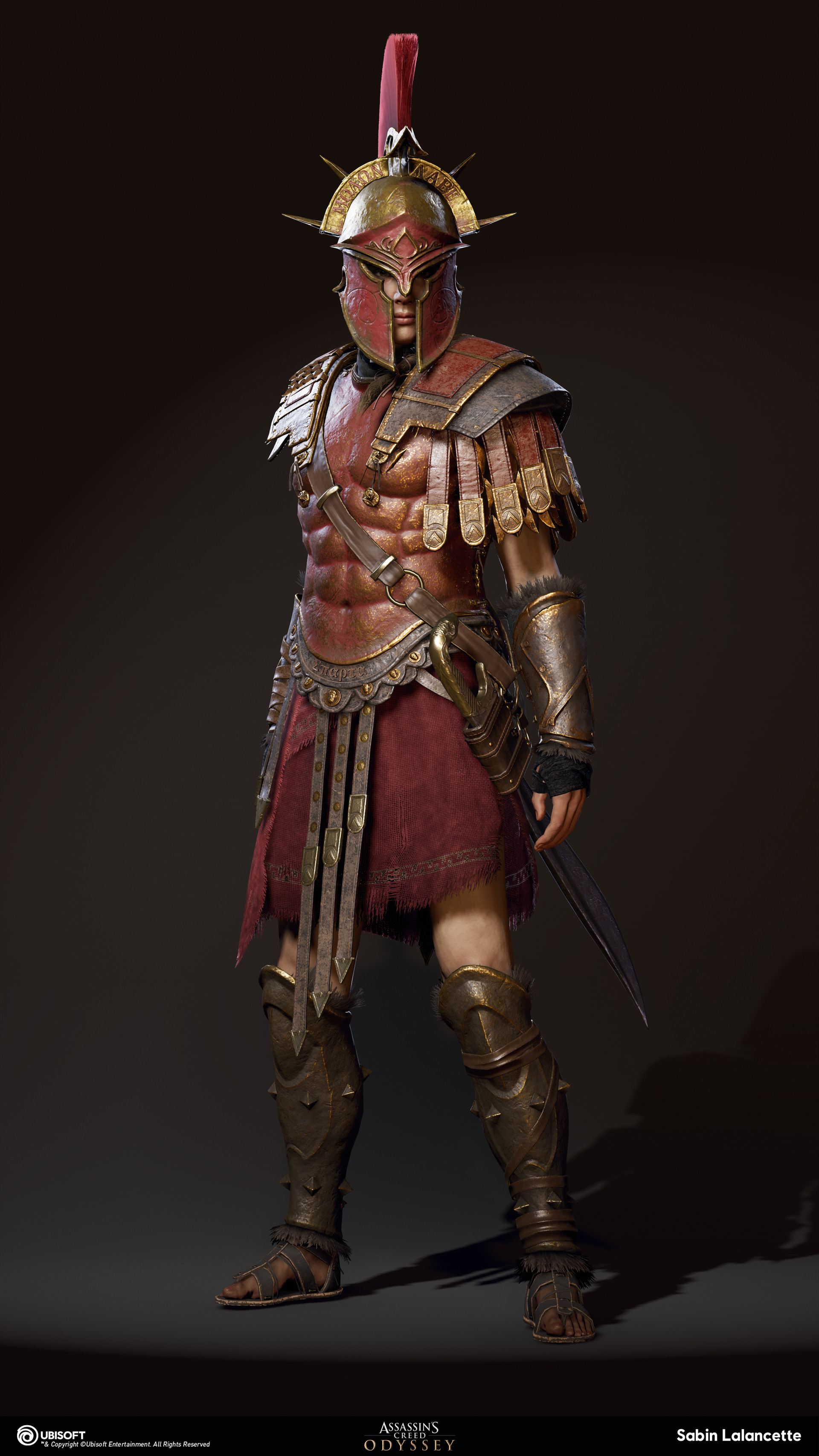 sabin-lalancette-artblast-fullsize-outfit-spartanwarhero-front-kassandra-slalancette