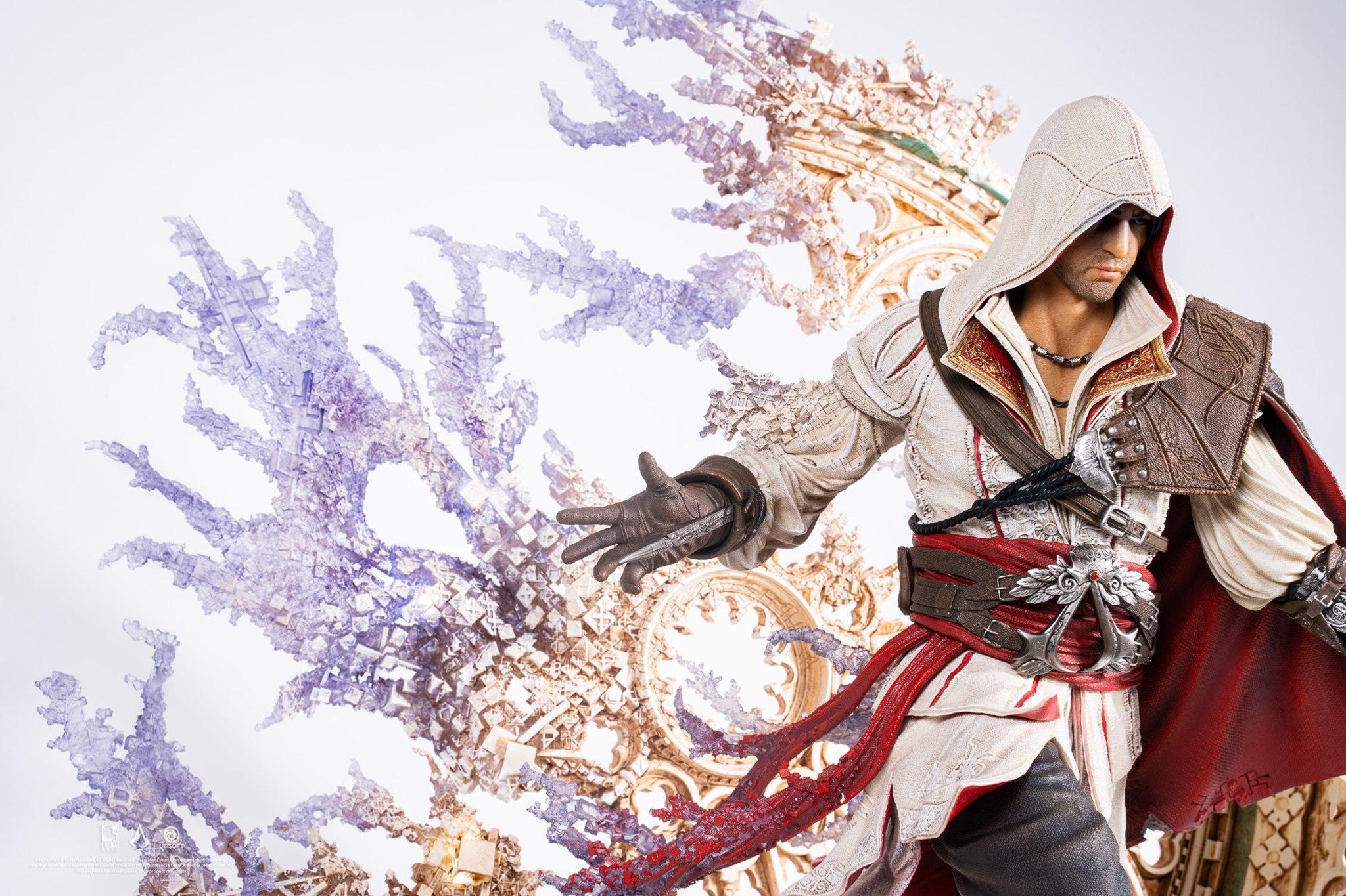 Assassin's Creed: Animus Ezio Statue Unveiled