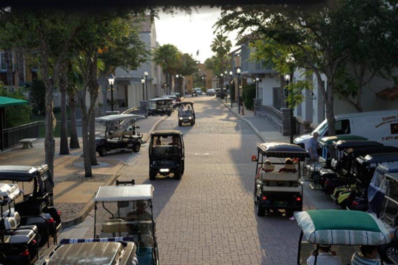 Solivita-downtown-golf-carts