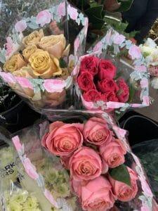 Assorted Garden Roses $4.95 per stem