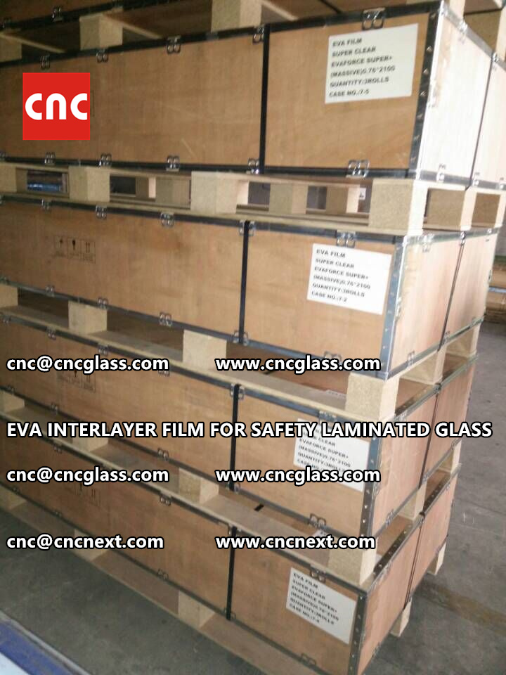 EVA INTERLAYER FILM FOR LAMINATED GLASS SAFETY GLAZING (10)