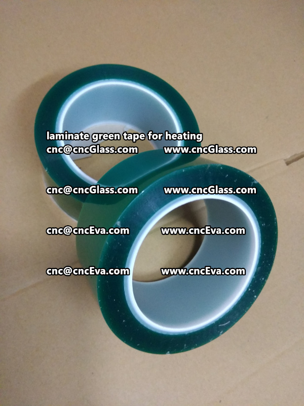 green tape PET TAPE for solar BIPV laminate (2)