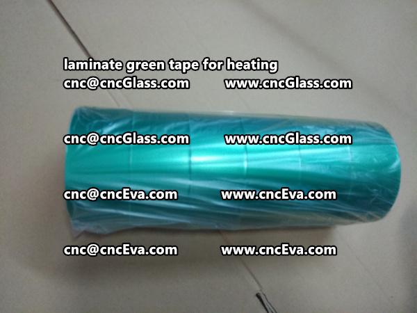 green tape PET TAPE for solar BIPV laminate (24)