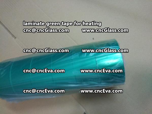 green tape PET TAPE for solar BIPV laminate (27)