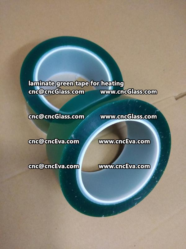 green tape PET TAPE for solar BIPV laminate (3)