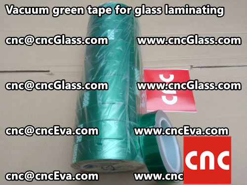Vacuum green tape for glass laminating  (1)
