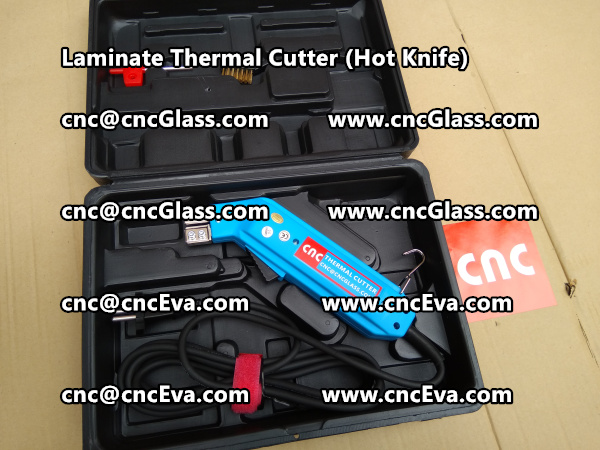 glass thermal trimmer hot knife