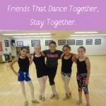 Friends at Dance