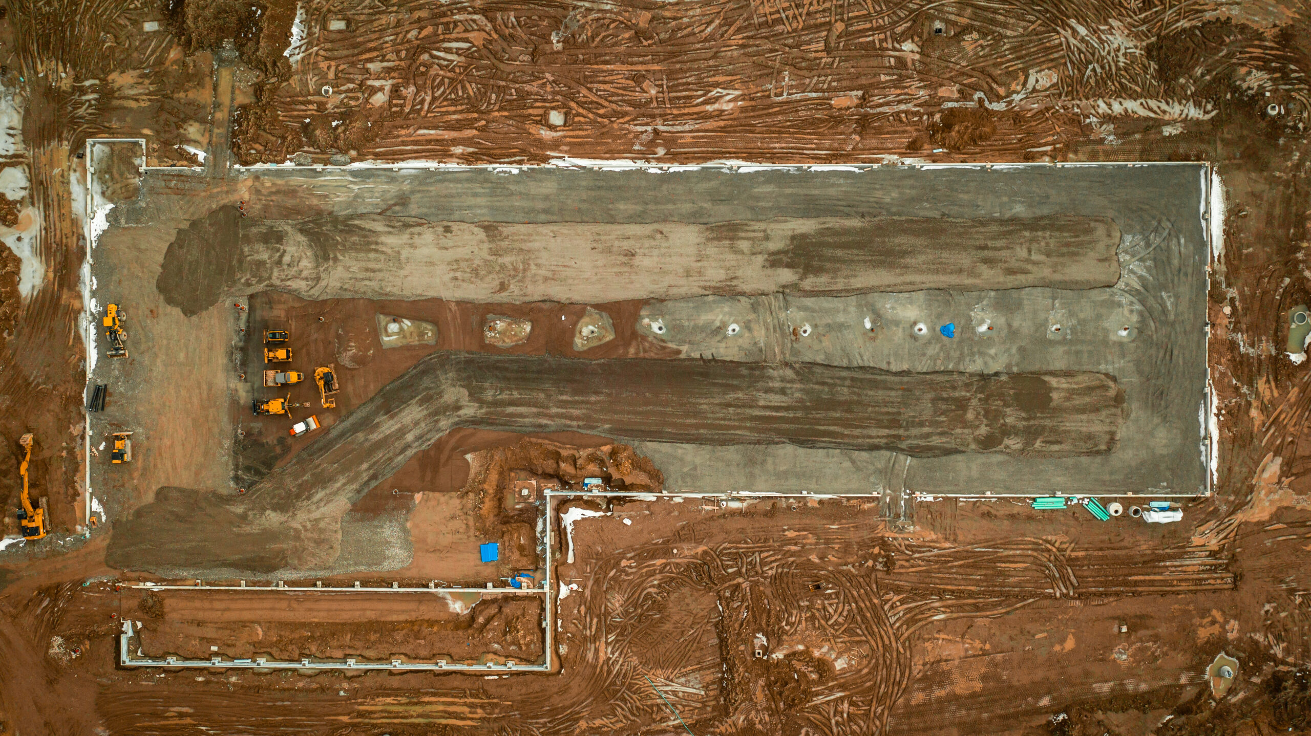 Aerial image of Corbec site.