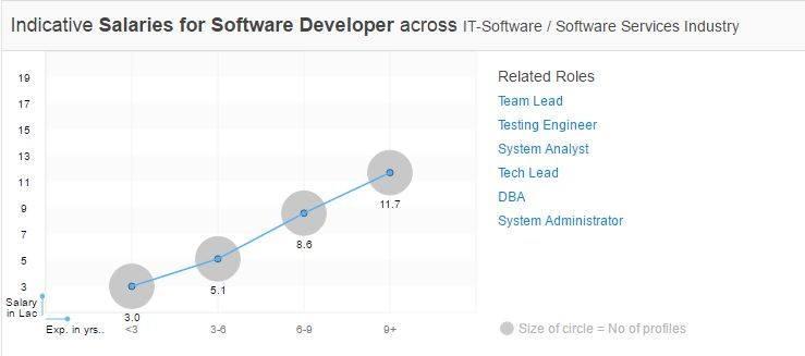 Developers Salary