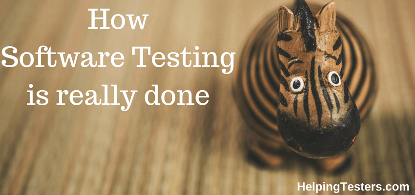 software testing, software testing tutorial, perform software test