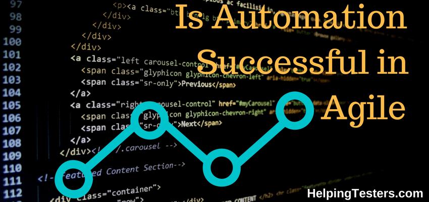 Agile, automation, Automation worth