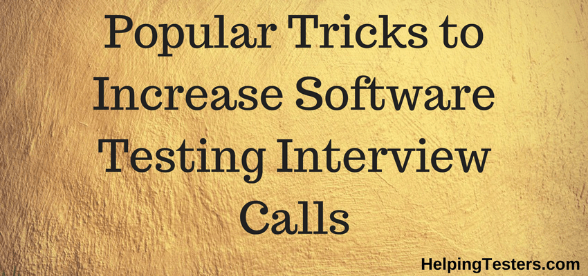 QA interview Questions, QA resume sample, Software Testing Interview Questions, testing resume for fresher, qa tester resume