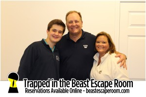 Trapped in the Beast Escape Room