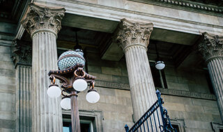 Image of courthouse columns