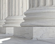 Image of white stone columns