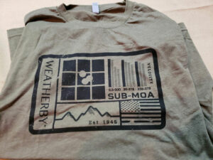 SUB MOA Tee $15 (size available XL)