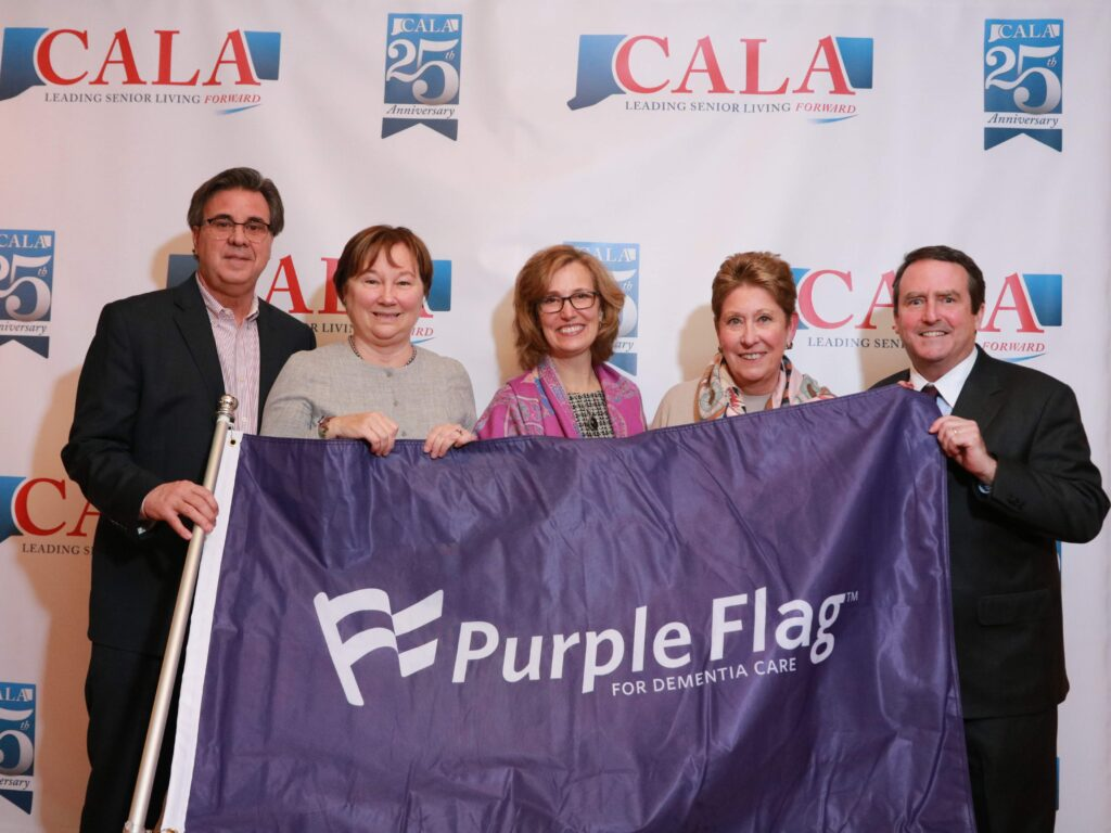 McLean is award the Purple Flag