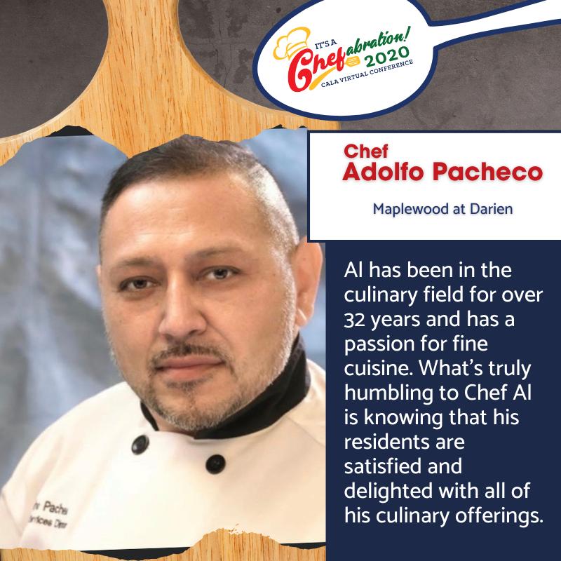 Maplewood at Darien Chef Adolfo Pocheco.
