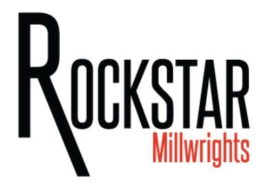 Rockstar Millwrights Logo