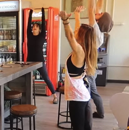 Out & About Doug stops by Rize Pizza in West Chester for a charitable Yoga event