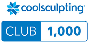 Coolsculpting 1000 treatments performed. freeze the fat