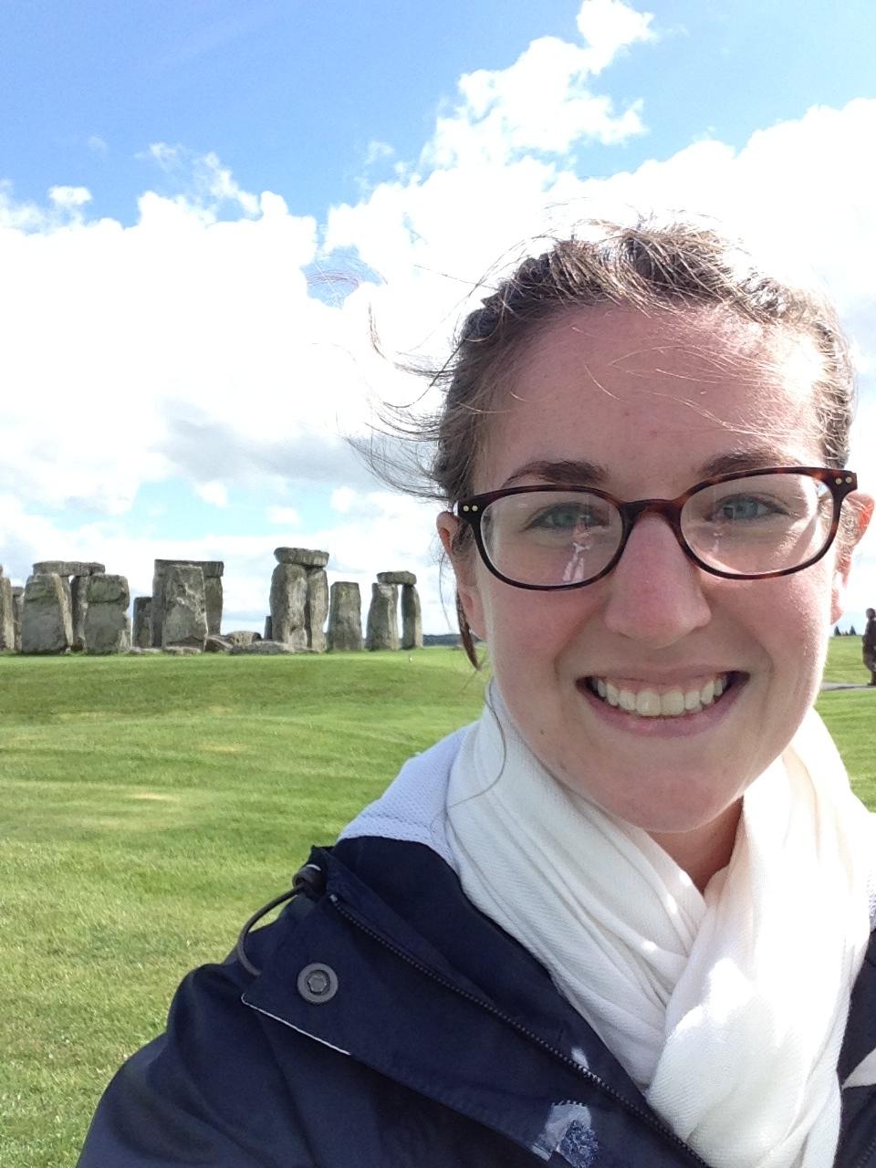 A Beautiful day at Stonehenge