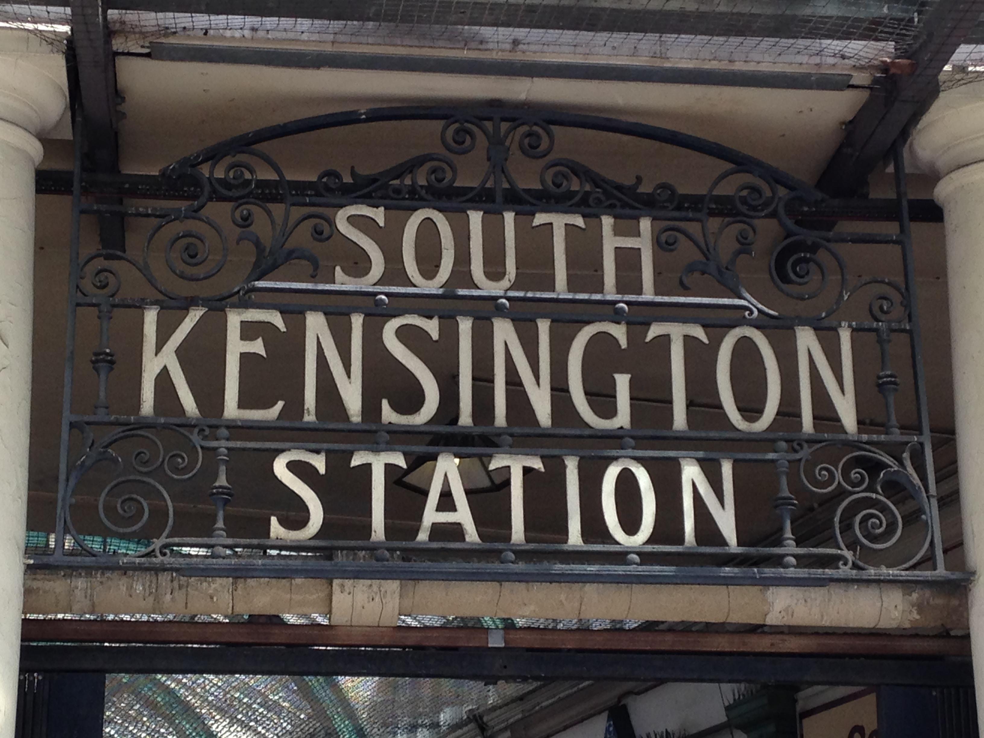 Let our journey in Kensington, London begin!