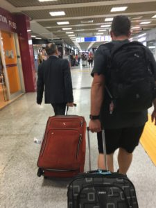 He even took some of our luggage for us!