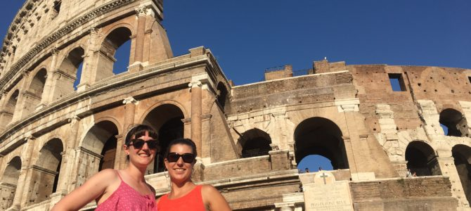 Campo de Fiori, Circus Maximus, Palatine Hill & The Colosseum