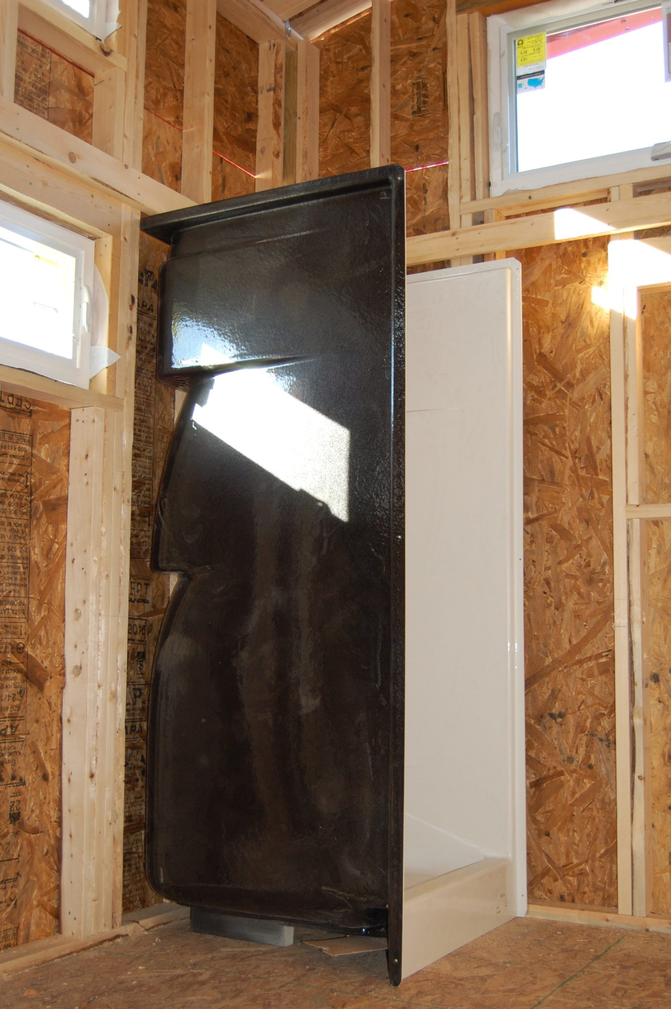 Countryside Progress - Shower Installation