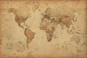gn0430-world-map-antique-style