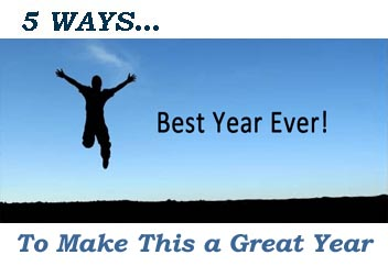 5 Ways… To Make the Year Great
