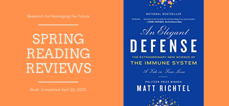 Spring Reading Review: An Elegant Defense