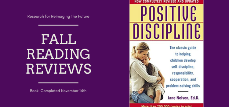 Fall Reading Review: Positive Discipline