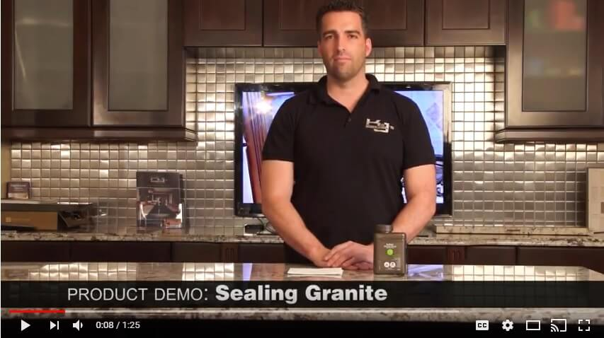How To Seal Your Granite Countertop