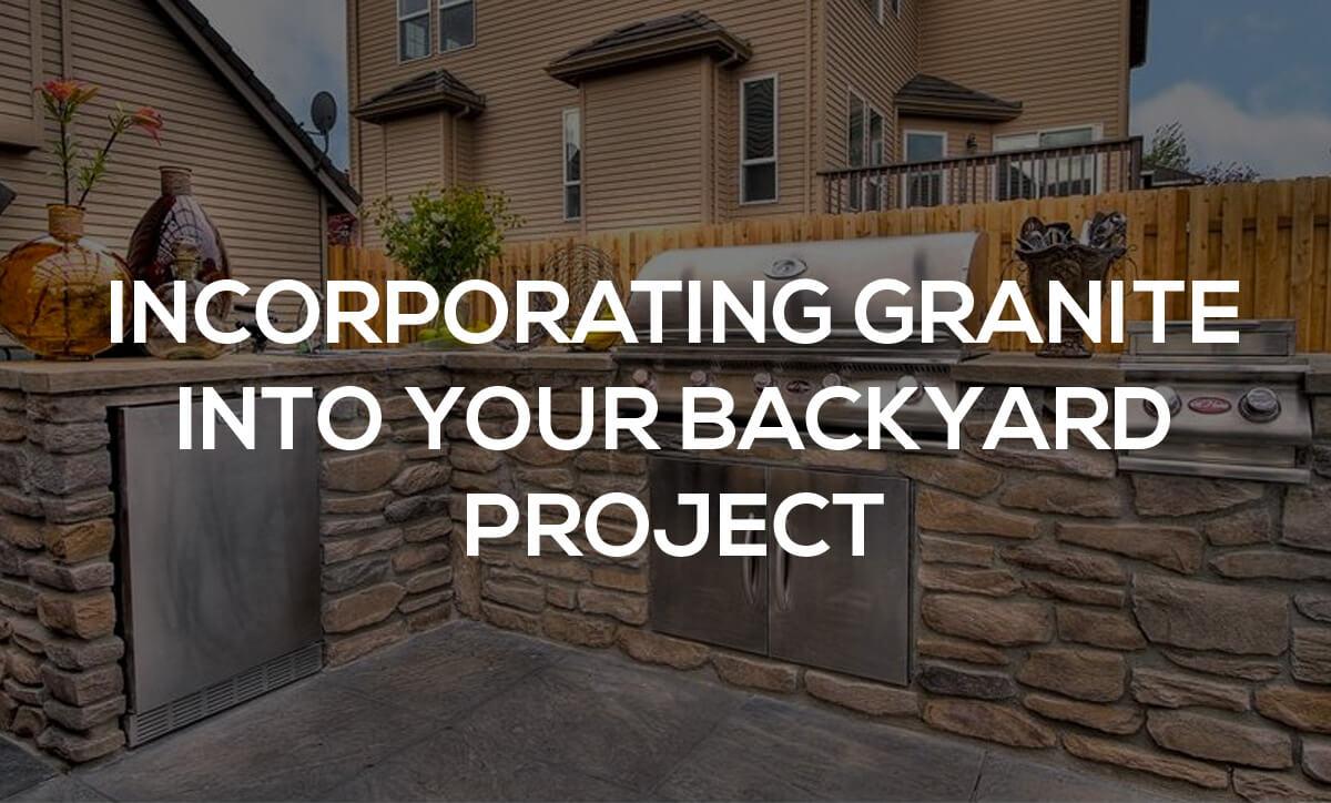 backyard granite