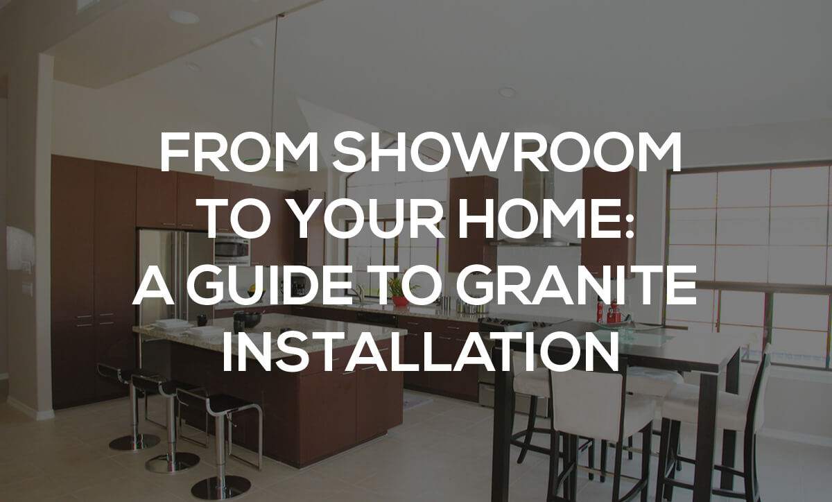 granite installation guide