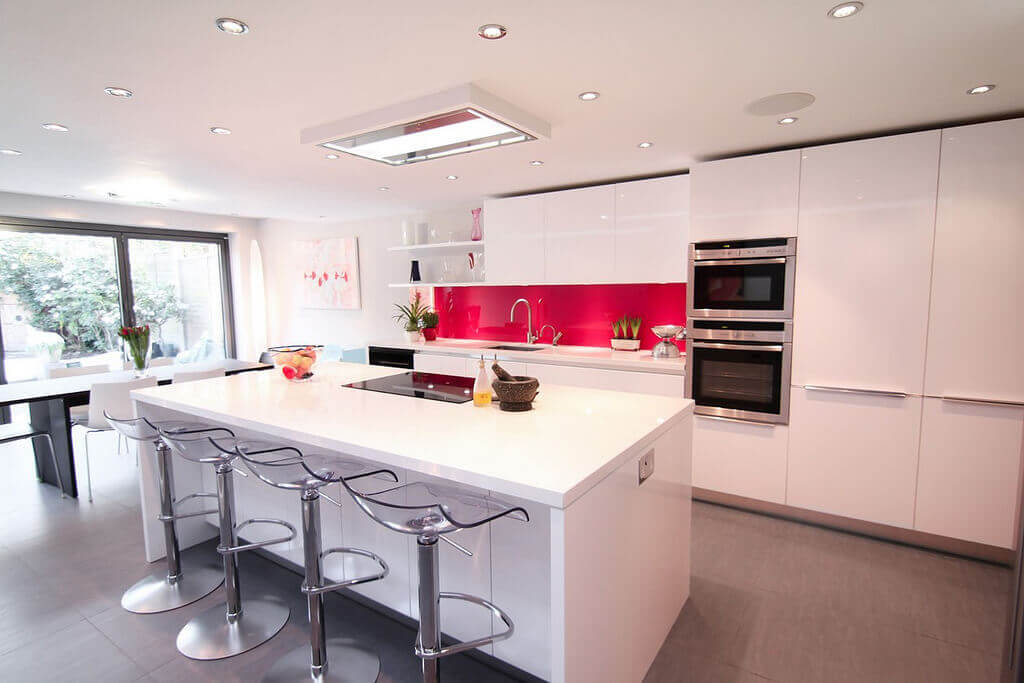 For A Modern Kitchen, Look To White Quartz