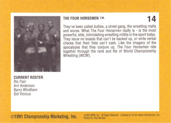 1991 WCW Impel Trading Cards - The Wrestling Card Price Guide
