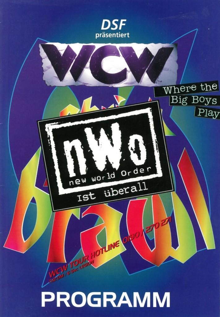 WCW/nWo Christmas Brawl Program [December 1996]