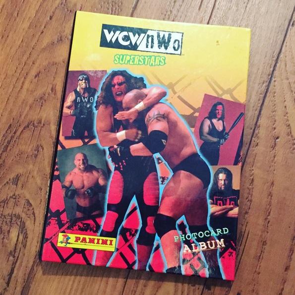 WCW Panini Album