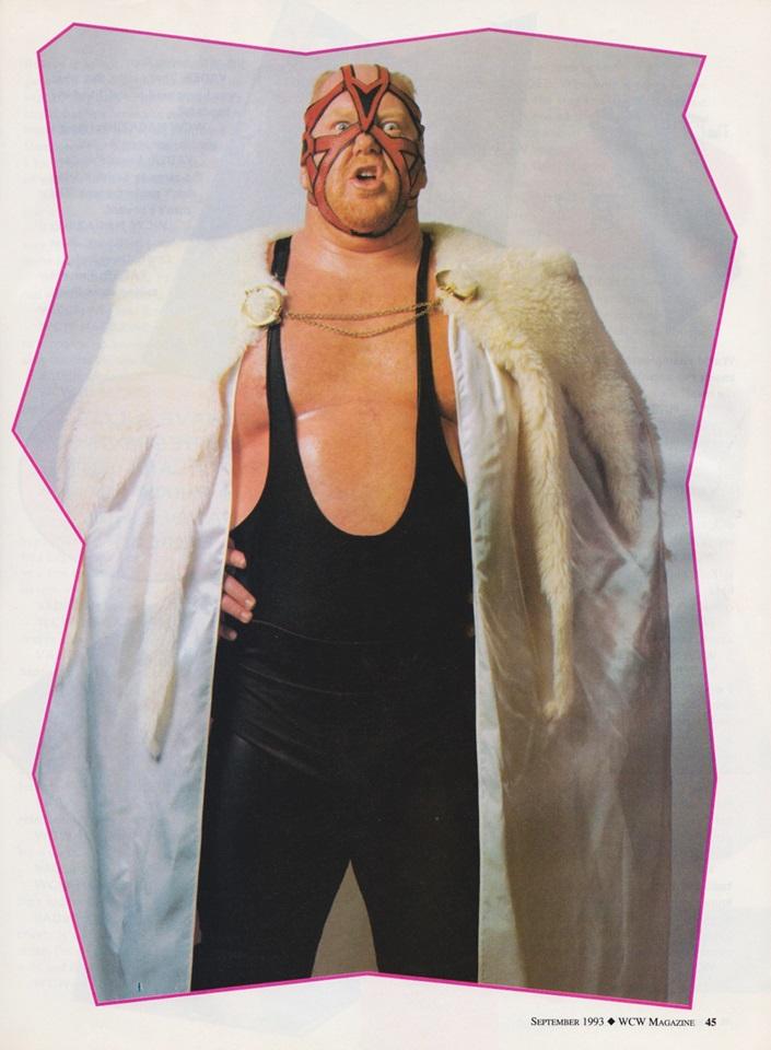 Big Van Vader - WCW Magazine [September 1993]