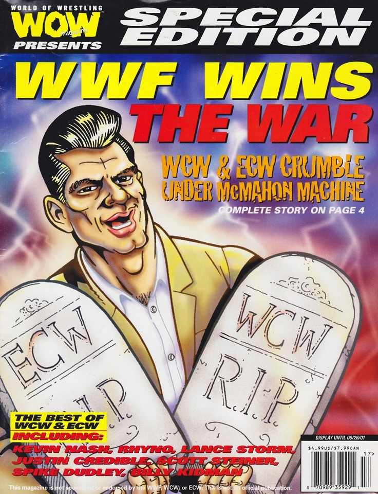 This Day in WCW History: The World Wrestling Federation Buys