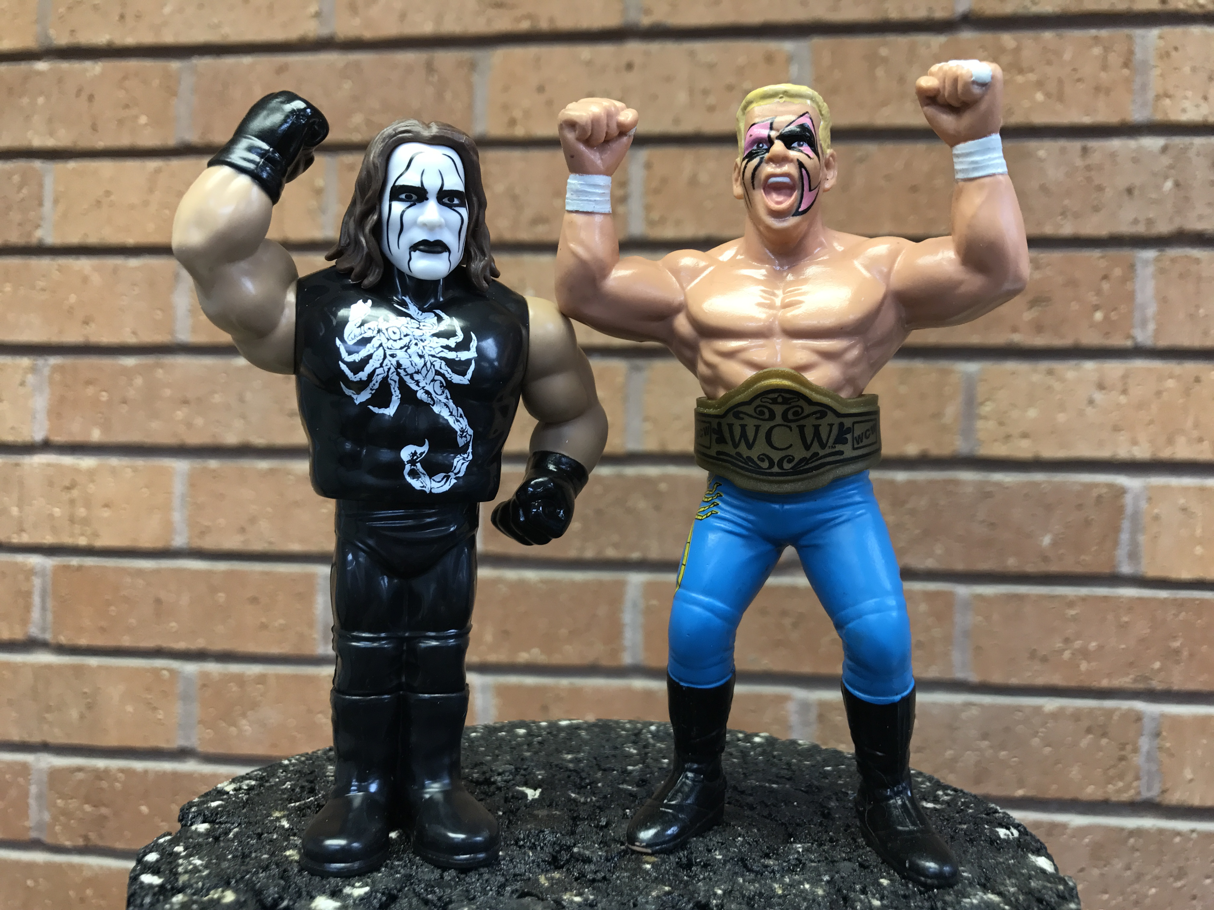 Sting-serie di base 62-WWE MATTEL WRESTLING FIGURE