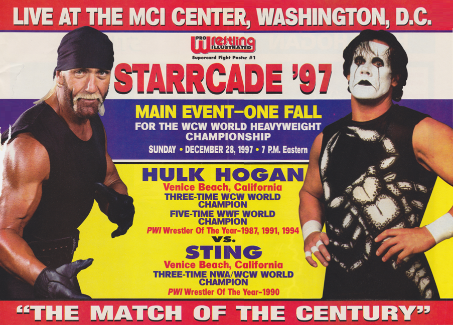 WCW Starrcade '97 20th Anniversary Retrospective: Sting vs