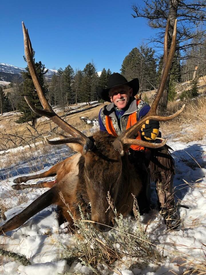 Montana elk hunting backcountry archery rifle guided hunt