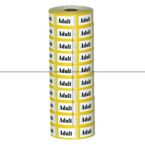 Roll Tickets, Adult (10 Pack)
